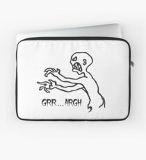 Grr Argh, Monster, Buffy the Vampire Slayer, Mutant Enemy, 90s, BTVS, Zombie, Joss Whedon, Angel, Buffering, Pop Culture, Zombie Laptop Sleeve