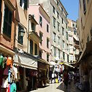 Market day in Old Corfu Town by kimie