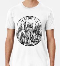 Kampieren Ich esse Leute Vintage T-Shirt Männer Premium T-Shirts