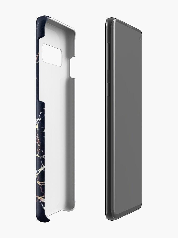 Alternative Ansicht von Space Blue & Gold - Iphone / Galaxy Hüllen Hülle & Klebefolie für Samsung Galaxy