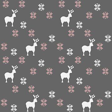 Winter themed repeatable pattern by SooperYela