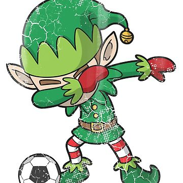 Christmas Dabbing Soccer Elf  by frittata