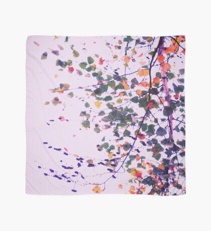 Nature Pattern # 8 - Birch (Pink) Scarf