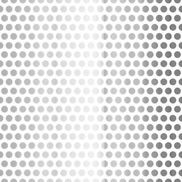 Patterns, Birds eyes, - brushed aluminium. by timothybeighton