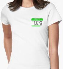 Kiss me, I'm Irish Women's Fitted T-Shirt