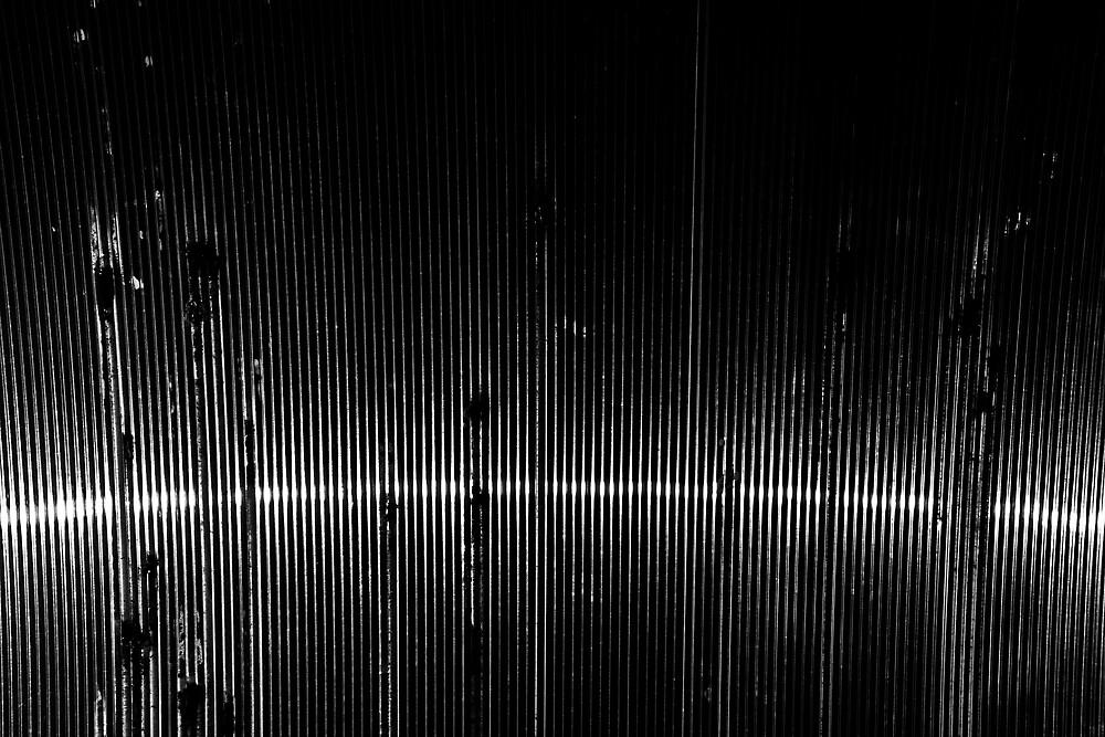 Trolley shelter by Mark E. Coward