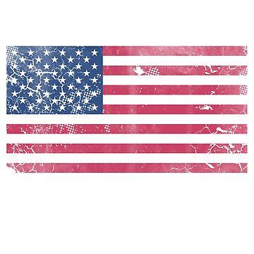 Redneck Lives Matter American Flag by frittata
