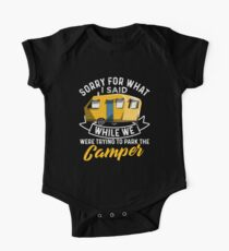 Parking The Camper One Piece - Short Sleeve