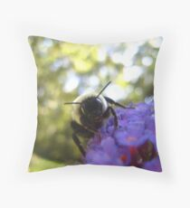 Pollinating Throw Pillow