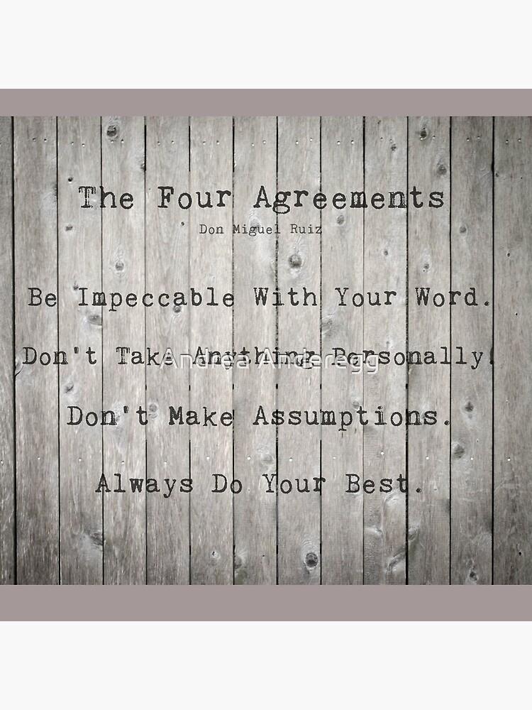 Los cuatro acuerdos de andreaanderegg