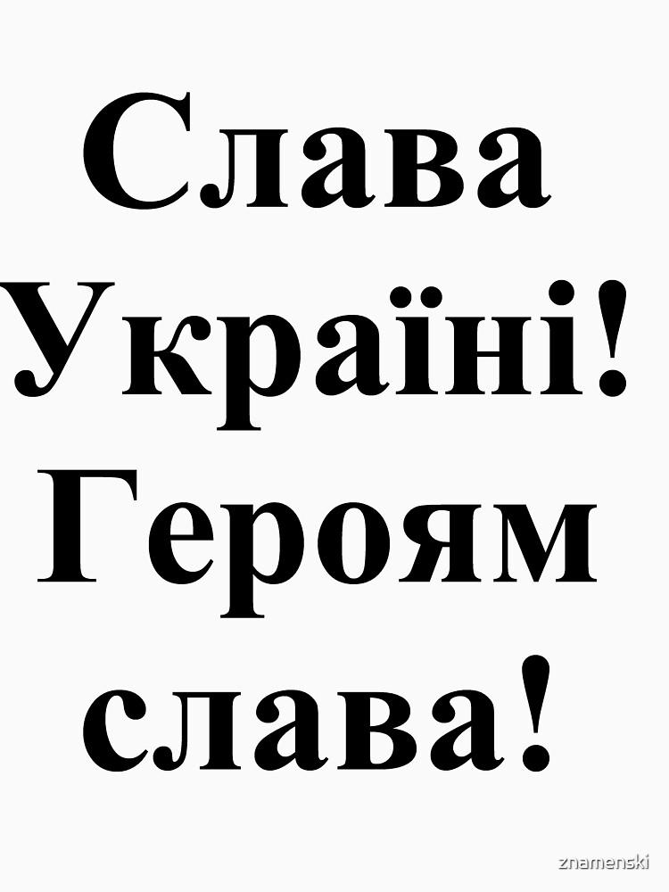 Glory to Ukraine! Glory to the heroes! Слава Україні! Героям слава! #Слава #Україні! #Героям #слава! #СлаваУкраїні! #Героямслава! #СлаваУкраїніГероямслава!  #Ukraine #Pattern #Ukrainian #embroidery by znamenski