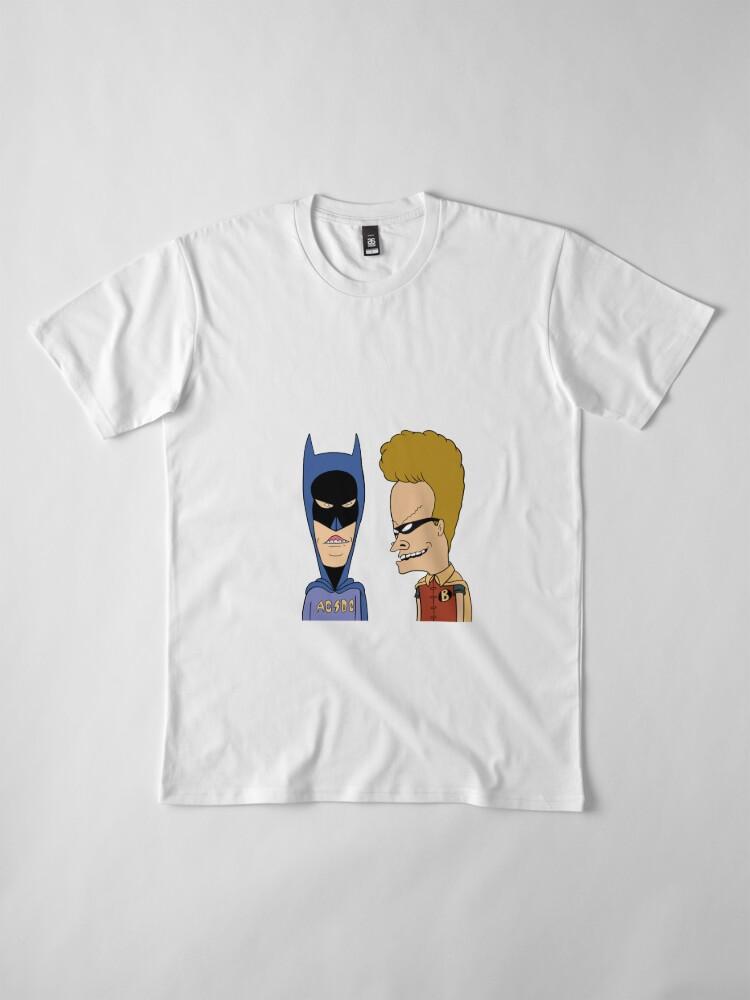 Alternate view of Beavis Butthead Cosplay heroes Premium T-Shirt
