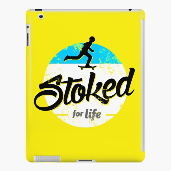 Skater - Stoked for Life iPad Snap Case