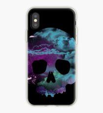 Skull space iPhone Case