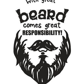 beard man funny quotation  by kartickdutta101