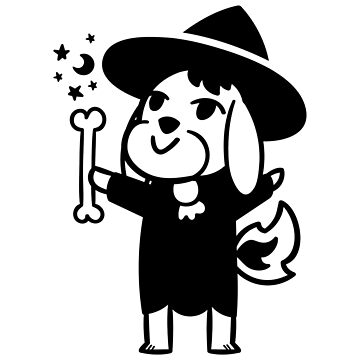 Halloween Pup Witch by gymdrunk