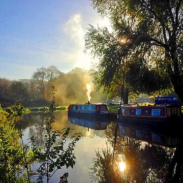 The River Way at Godalming Surrey UK by Picturestation