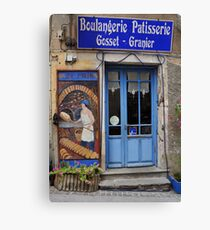 Boulangerie Patisserie Olargues Canvas Print