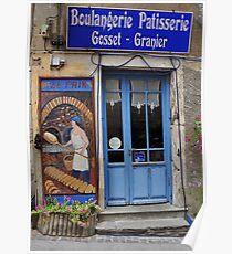 Boulangerie Patisserie Olargues Poster