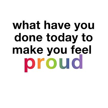 Make you feel proud by brianssunshine