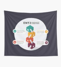 ENTJ Sarcastic Functions Wall Tapestry