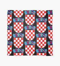 Kroatien Wappen Tuch