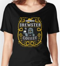 Brewster's Cup of Coo'ffee  Women's Relaxed Fit T-Shirt
