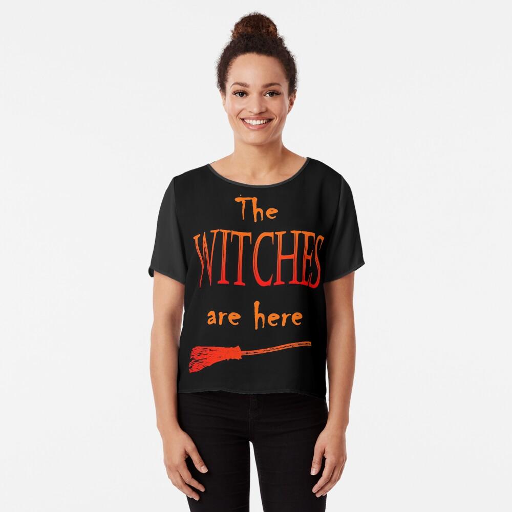 Die Hexen sind da Chiffon Top