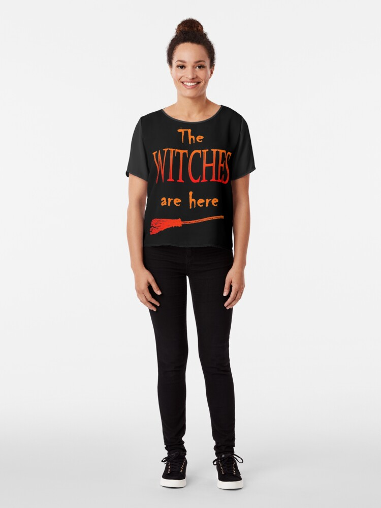Alternative Ansicht von Die Hexen sind da Chiffon Top