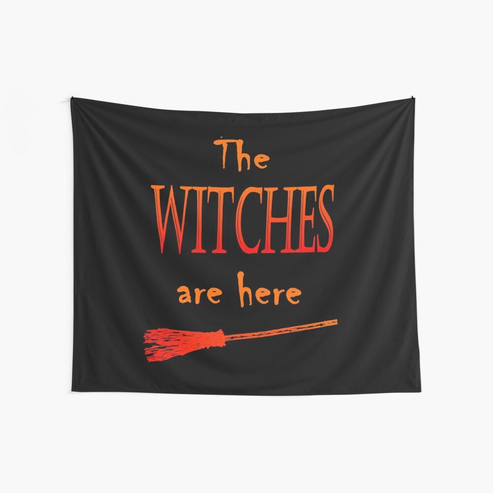 Die Hexen sind da Wandbehang