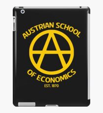 Austrian School Economics Capitalism Libertarian iPad Case/Skin