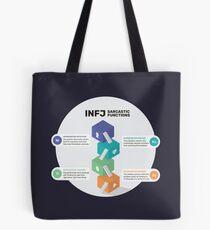 INFJ Sarcastic Functions Tote bag