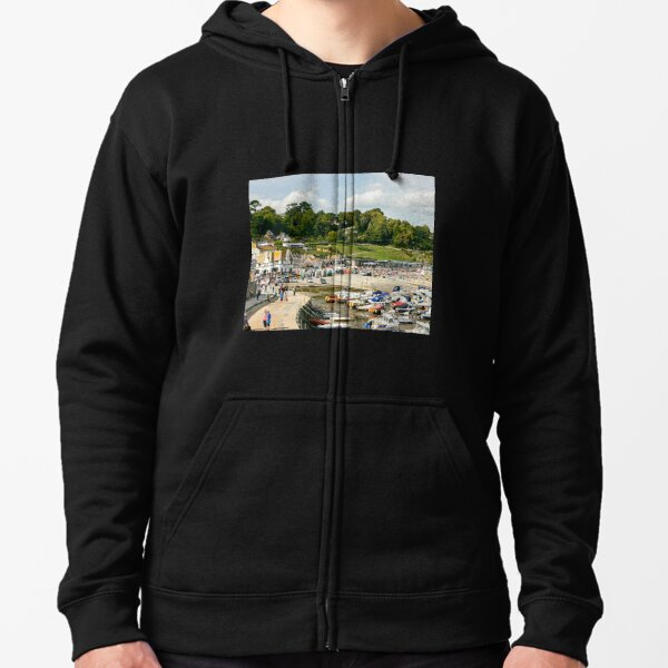 I Love Heart West Dorset Black Kids Sweatshirt