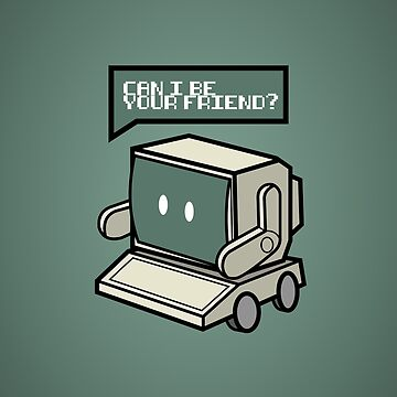 Friendly Retro Computer - Color by RobbeRNL