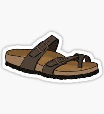 Mayari Birkenstocks sandal shoe Sticker
