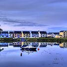 Boatyard Reflections by Stephen Peters