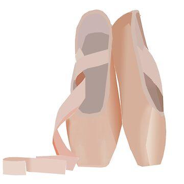 Ballet Shoes by jnrjoelle