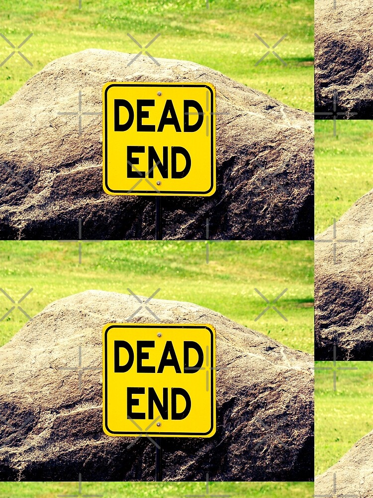 Dead End, street sign  by PicsByMi
