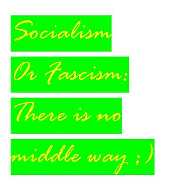 Socialism or Fascism - Seinfeld Colors Hipster Socialist Tee by codenoir