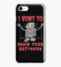 Robot Vampire iPhone Case/Skin