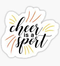 cheer! Sticker