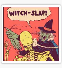 Witch-Slap Sticker
