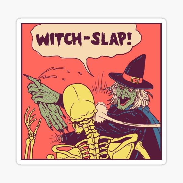 Witch-Slap Sticker
