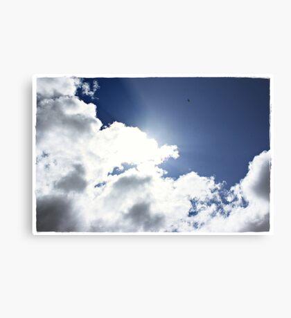 High as a Kite, freedom through flight Metal Print