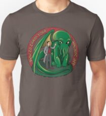How to train your ancient god (colab with Ursula Lopez) Unisex T-Shirt