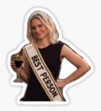 The Good Place Best Person Sticker