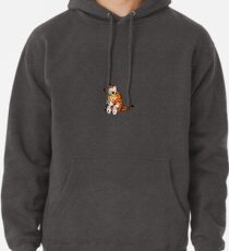 Calvin and Hobbes BFFs Pullover Hoodie
