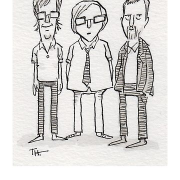 Ben Folds Five by timtoons