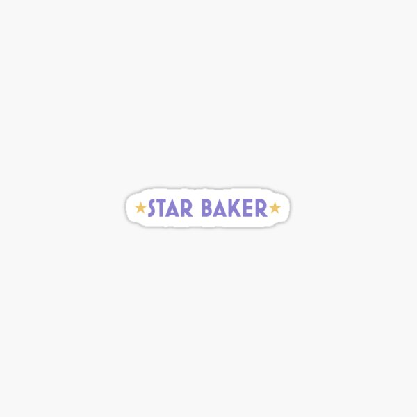 Star Baker Sticker