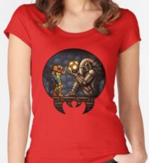 The First Chozo Women's Fitted Scoop T-Shirt